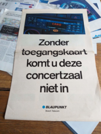 "Blaupunkt folder ""Art Keycard"""