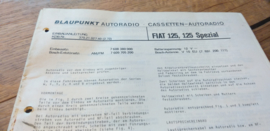 einbauanleitung / installation instructions Fiat 125 2.72