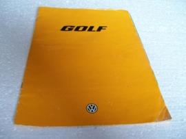 Autofolder Volkswagen Golf