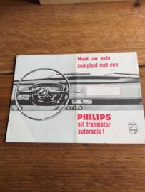 Philips folder o.a.  N 6 X 31 T   1968?