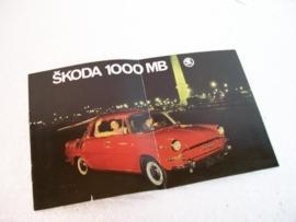 Autofolder Skoda 1000 MB (Motokov)