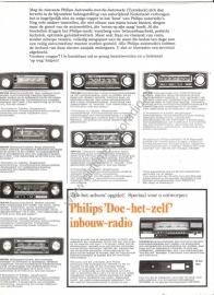 Philips autoradio folder/poster