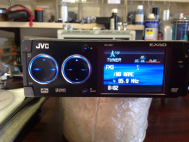 JVC KD-AVX1 EXAD MP3 DVD CD player