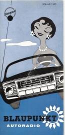 Blaupunkt 1963 autoradio Januari