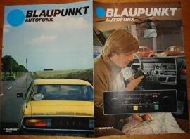Blaupunkt 1977 folder Autofunk Koblenz CB