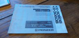 Pioneer KE-3090B gebruiksaanwijzing manual betriebsanleitung