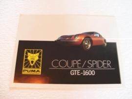 Autofolder Puma Coupe / Spider