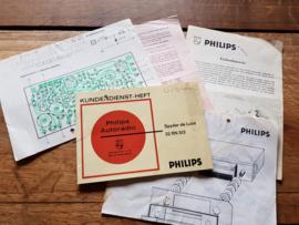 22 RN 513 Spyder de Luxe Philips autoradio manual bedienungsanleitung