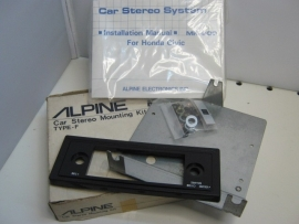 Alpine MK-600 stereo mounting kit type-f Honda civic