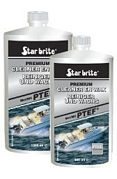 starbrite cleaner en wax fles 1000 cc