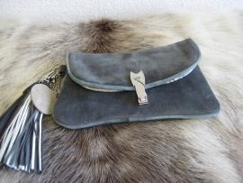 Bolsa Mini Clutch  Grey