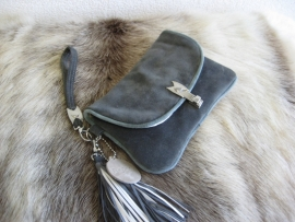 Bolsa Mini Clutch  Grey