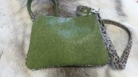 Clutch in beautiful green