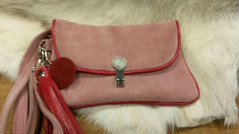 Pink Mini Clutch