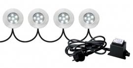 G&D LED Set 4 spots!