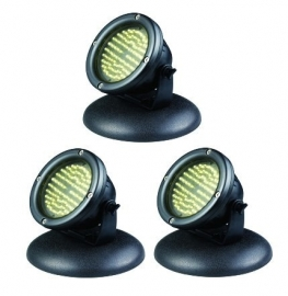 Aquaking LED-60x3 spots 6,5Watt  vijververlichting