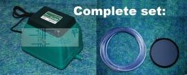 Antilla 30 luchtpomp + luchtdisk 20cm + slang