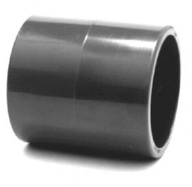 Pvc koppelstuk (sok/mof)  20mm