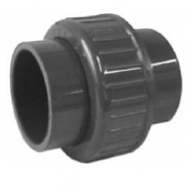 Pvc 3/3 koppeling met o-ring  20mm