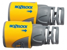 Hozelock Slangstuk PLUS 12,5mm en 15 mm SET van 2