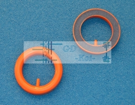 Ring luchtuitstromer 75mm  luchtsteen