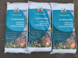 Vijverplanten grond / vijveraarde 20 zakken van 20ltr