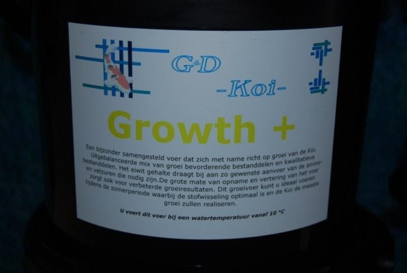 G&D Koi Growth+  koivoer 5 liter