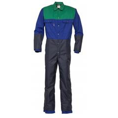 Havep Melkersoverall 2041 blauw groen poly katoen