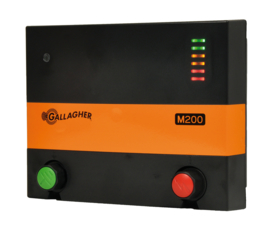 Schrikdraadapparaat Gallagher M200 230V 1.9J TOT 10KM