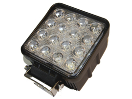 LED werklamp 48W 16LEDS Radio stoort niet