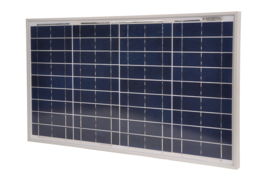 Zonnepaneel 30W incl 10A regulator