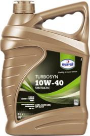 Eurol motorolie turbosyn 10W-40 5 Liter