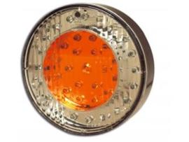 LED achterlamp Achterlicht 3 funct. 103mm 12v 38 led
