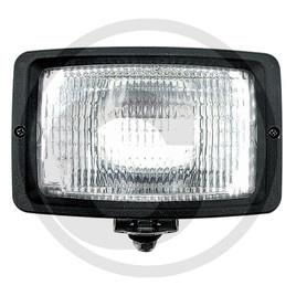Werklamp H3 rechthoek 12v/h3
