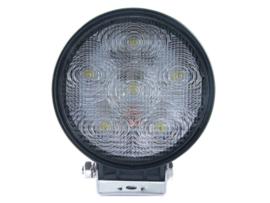 LED werklamp rond 0-30 volt 18 watt