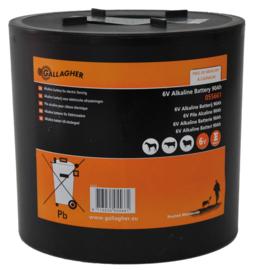 Ronde batterij 6V alkaline 90Ah 055661