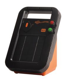 Gallagher schrikdraadapparaat zonnepaneel S20 incl batterij 6V 0,2J