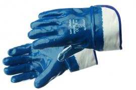 Werkhandschoen dichte rug blauw
