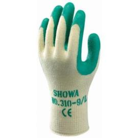 Werkhandschoen showa groen 310 handschoen