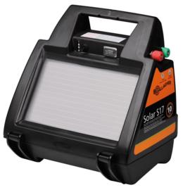 Gallagher schrikdraadapparaat zonnepaneel S17 inclusief batterij 6V 0,22J