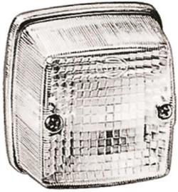 Markeringslamp breedtelamp wit opbouwmodel