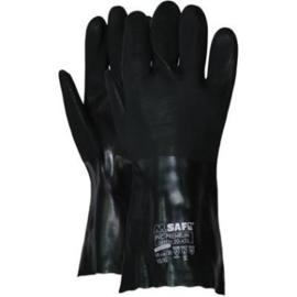 Werkhandschoen M-Safe PVC Premium Green 20-435 Chemisch bestendig