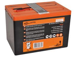 Powerpack batterij 9V 120Ah 160x110x115mm 008704