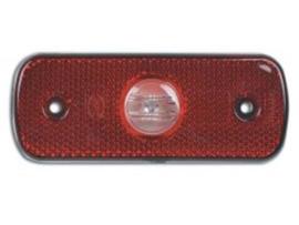 LED markeringslamp Achter markering rood 12/24v