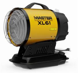 Infrarood Diesel heater Master XL61 17KW