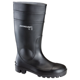 Werklaars kniehoogte Dunlop veiligheidslaars 142PP BEVEILIGD S5