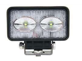 LED werklamp rechthoek 2x10W KSG