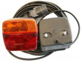LED achterlampset achterlichtset 12 meter blister zonder magneet
