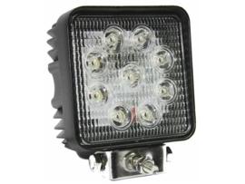 LED werklamp vierkant 27W 9 leds Radio stoort niet