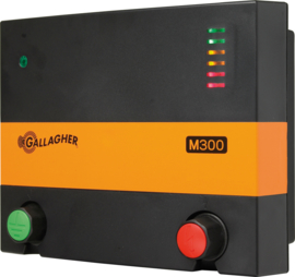 Schrikdraadapparaat Gallagher M300 230V 3,2J TOT 17KM